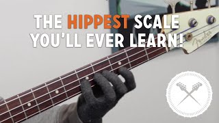 "One Of The ""Hippest"" Scales You'll Ever Learn! /// Scott's Bass Lessons (L#145)"