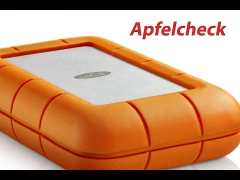 Die BESTE externe Festplatte!? - LaCie Rugged Raid REVIEW - Apfelcheck