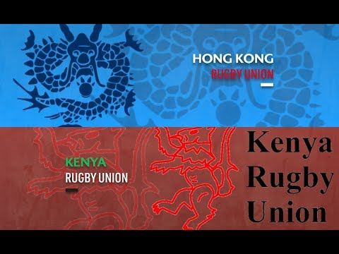 It's match day two of the Rugby World Cup 2019 repechage as Hong Kong face Kenya (видео)