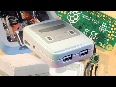 Make A Mini Super Nintendo Emulator With A Raspberry Pi Zero And Clay