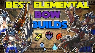 Best Damage Combo For Bow | Monster Hunter World: MHW - Most Popular