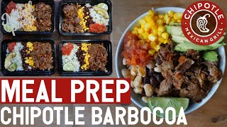 Instant Pot Meal Prep | Chipotle Barbacoa Burrito Bowl