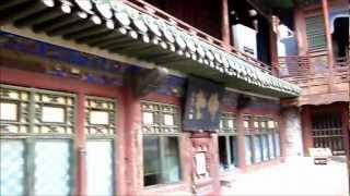 preview picture of video 'CHINA: Walking through Hanging Temple, Datong'