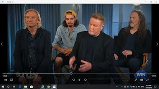 "The Eagles & ROTFL w/ Presenter's ""Freudian Slip""Australian Tv Interview Oct 7 2018"