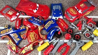Tool Kit Center Transforming Cars 3 Fabulous Lightning mcqueen change and race