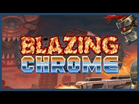 Blazing Chrome review - Steamdrunk