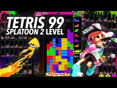 Tetris 99's New Splatoon Theme Adds A Perfect Amount Of Pop