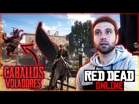 CABALLO VOLADOR Y DUELO DE YOUTUBERS! - RED DEAD ONLINE Mp3