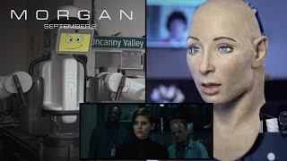 Morgan  Robots React To The Morgan Trailer HD  20th Century FOX