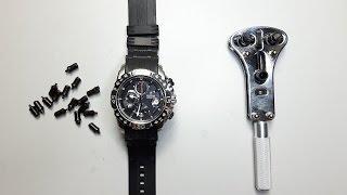 Mit diesem Tool- Uhr Batterie wechseln // Alle Arten von Armbanduhren // DEUTSCH //FullHD