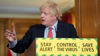 Thursday evening news briefing: Boris Johnson announces groups of six can meet outside from Monday
