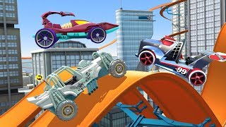 HOT WHEELS RACE OFF Gameplay Scorpedo / Rig Storm / Mountain Mauler HW Cars | Stunt Racing Game