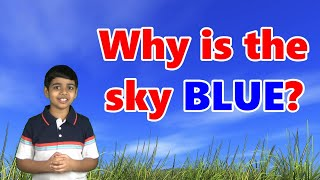 Why is the SKY BLUE in COLOR? Easy explanation!