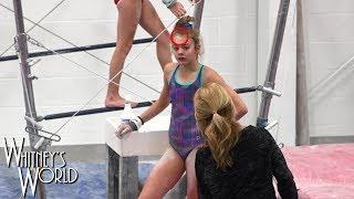 Uneven Bars | The Struggle Is Real | WhitneyBjerken Gymnastics