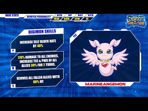 Digimon ReArise | How Good Is Devoted MarineAngemon?