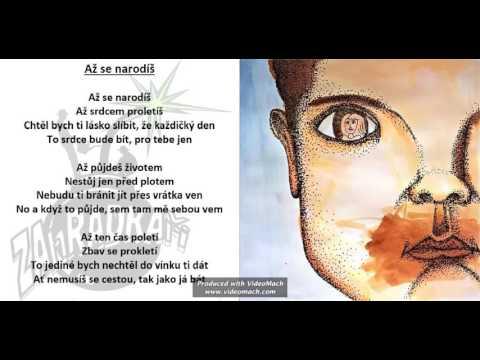 Zahradkaři - ZAhRADKAři - Až se narodíš (ukázka za nového CD - ZA RADKA 2016)