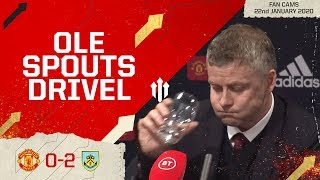 """THEY TOOK THEIR CHANCES"" Man Utd 0-2 Burnley 