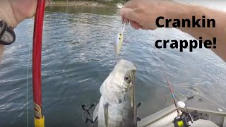 Trolling Crankbaits For Crappie On Lake Of The Ozarks #3 (8-18-16)