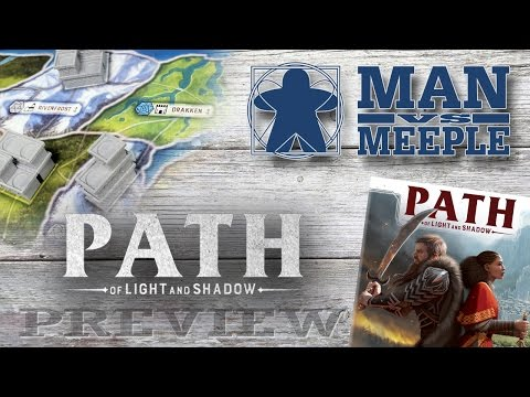 Path of Light and Shadow Preview by Man Vs Meeple