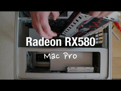 Mac Pro 4.1 und 5.1 mit Grafikkarte für Mojave aufrüsten (Sapphire Pulse Radeon RX580)