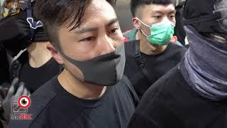 11AUG2019退回銅鑼灣懷疑警察偽裝抗爭者