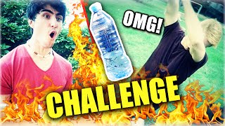El RETO de la BOTELLA 3!! (WATER BOTTLE FLIP CHALLENGE)