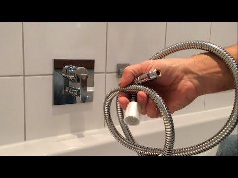 Duschschlauch erneuern, Brauseschlauch wechseln - DIY