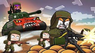 KOREAN WAR! (Minecraft Map Wars)