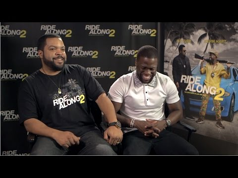 RIDE ALONG 2 - Ice Cube & Kevin Hart Interview
