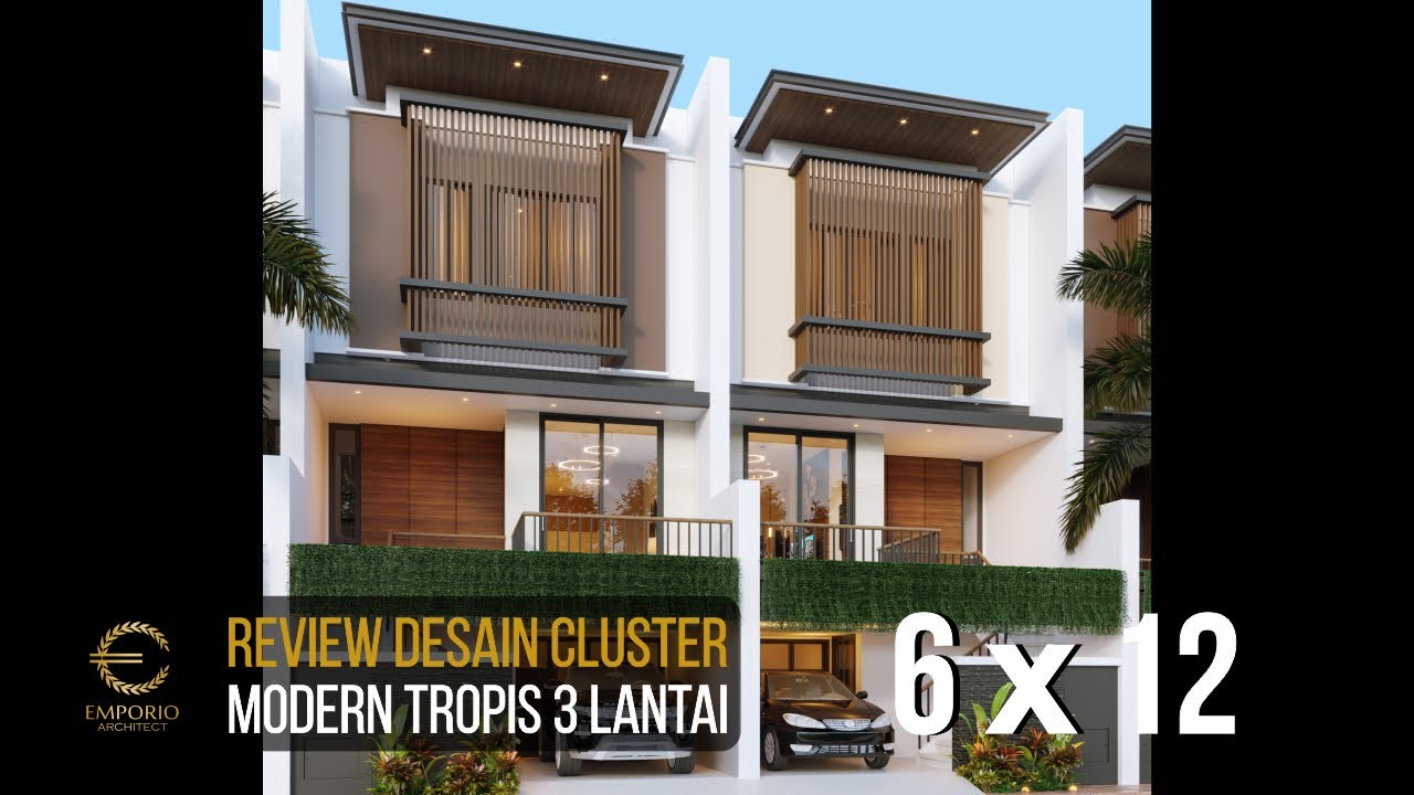 Video 3D Desain Cluster Modern 3 Lantai Royale Indah Kapuk Cengkareng di Jakarta Barat