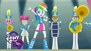 """MLP: Equestria Girls - Friendship Games """"The CHS Rally Song"""" Music Video"""