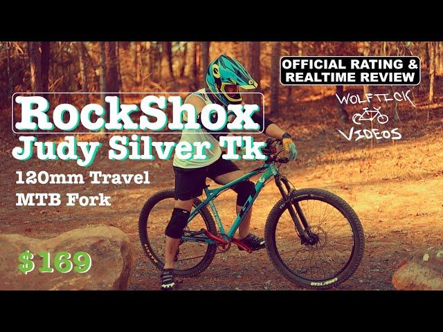 "Видео Вилка RockShox Judy Silver TK Remote 29"", Boost 15х110mm, 100mm черная"