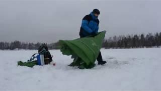 Формы палаток для зимней рыбалки