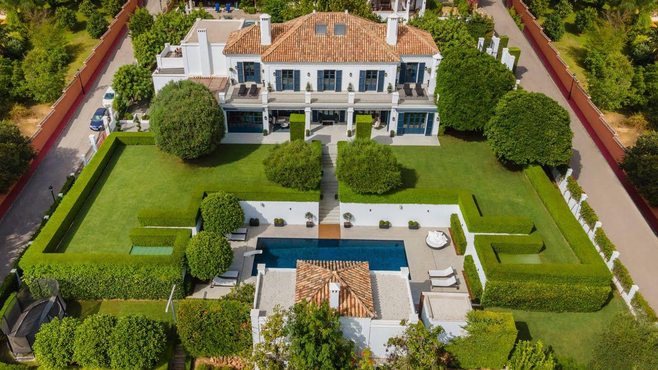 Modern Mediterranean High- End Villa with Stunning Facilities, Sierra Blanca