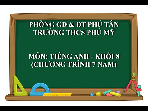 TIẾNG ANH 8 (7 NĂM) - Unit 11: GETTING STARTED, LISTEN AND READ