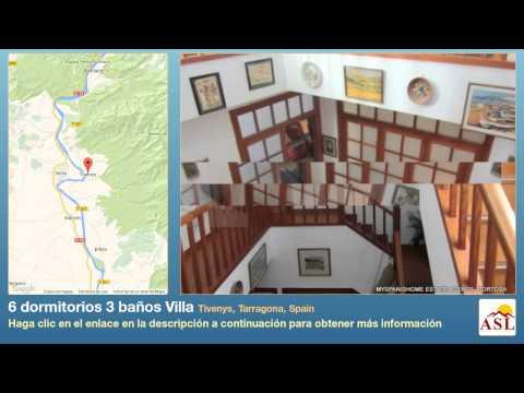6 dormitorios 3 baños Villa se Vende en Tivenys, Tarragona, Spain