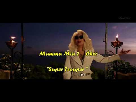 "Cher_ Mamma Mia! 2 _ ""Super Trouper"" + Lyrics HD"