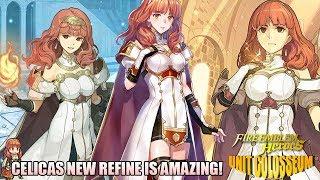 AMAZING BUDGET Celica Build with New Refine! | Unit Colosseum | Fire Emblem Heroes