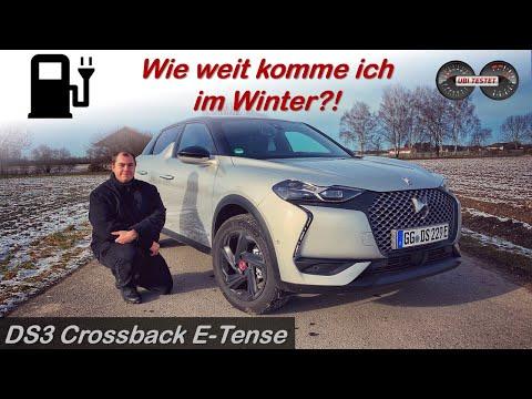 Elektroauto im Winter - geht das gut? DS3 Crossback E-Tense im Test |Reichweite - Alltag