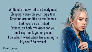 bad guy - Billie Eilish (Lyrics) 🎵