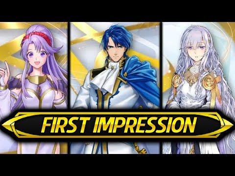Fire Emblem Heroes - SIGURD & DEIRDRE Banner First Impression & Opinions! (World of Holy War)