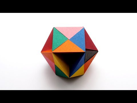 How to Make a Butterfly Ball in Origami