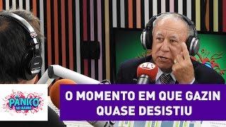 Mário Gazin Fala Sobre Momento Em Que Pensou Em Desistir | Pânico