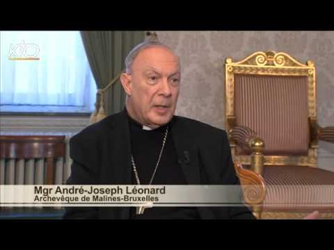 Mgr André-Joseph Léonard - Diocèse de Malines-Bruxelles