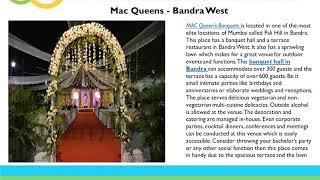 Best Wedding Banquet Halls And Hotel Banquets In Mumbai