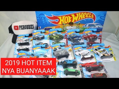 UNBOXING HOTWHEELS SHORTCARD 2019 CASE / LOT B 50Pack - INDONESIA CIVIC, SKYLINE, MAZDA, VW, INTEGRA | Px Hobbies - Nhạc Mp3 Youtube