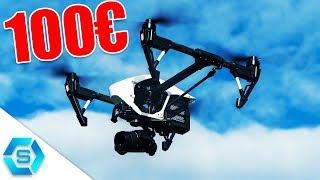 Top 5  BESTE KAMERA DROHNEN unter 100€ (2018) | Budget Quadcopter |