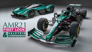 2021 Aston Martin F1 Car: FIRST LOOK, Valkyrie Comparison + NOISE | Carfection 4K by Carfection