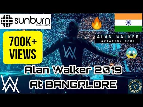Alan Walker Live Performance in India (Bangalore) Sunburn - 2019 Aviation Tour