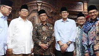 Sowan ke Muhammadiyah, Prabowo: Muhammadiyah Organisasi Islam Terbesar dan Bersejarah di Indonesia